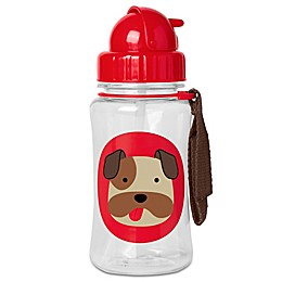 SKIP*HOP® 12 oz. Bronx Bulldog Straw Bottle