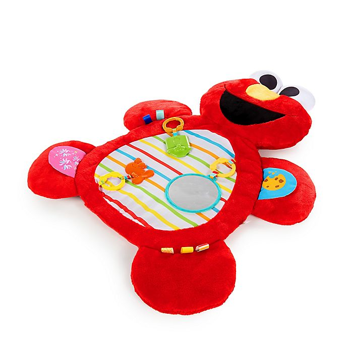 Alternate image 1 for Bright Starts™ Sesame Street Tummy-Time Elmo™ Prop Mat