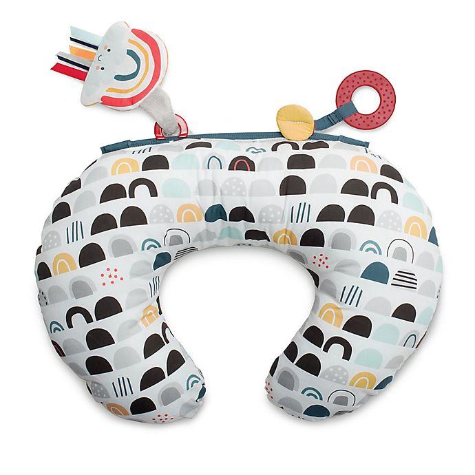 Alternate image 1 for Boppy® Black & White Rainbow Tummy Time Pillow