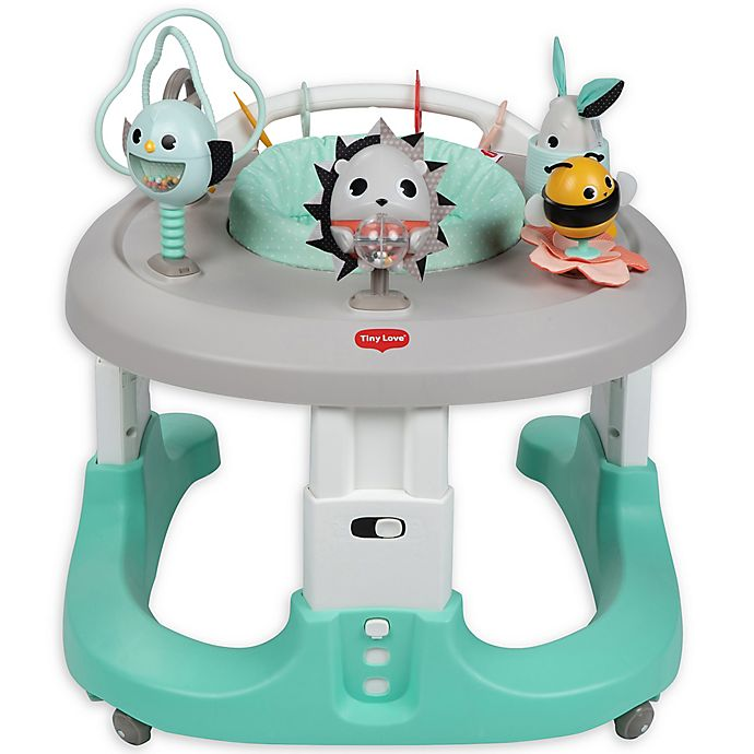 Alternate image 1 for Tiny Love® Meadow Days™ 4-in-1 Here I Grow Activity Center in Grey