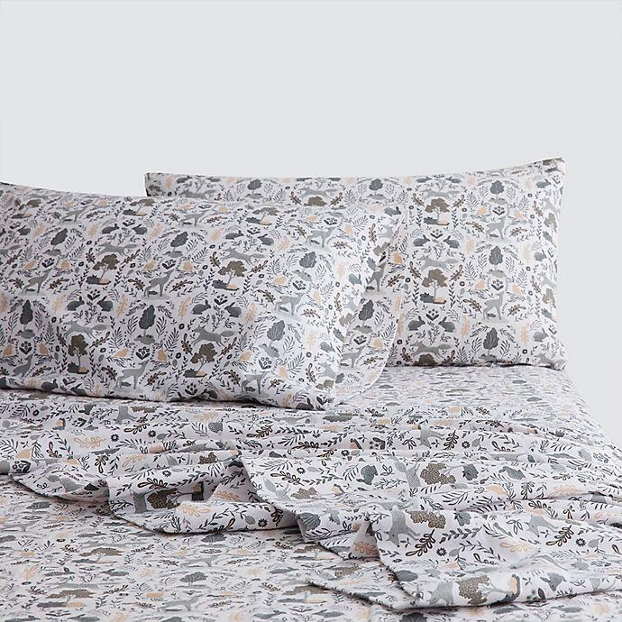 Marmalade™ Woodland Flannel Sheet Set | Bed Bath & Beyond