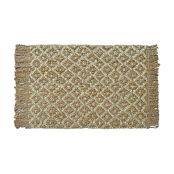 Alternate image 1 for Bee & Willow™ Home Alexandria Handcrafted Rug in Natural