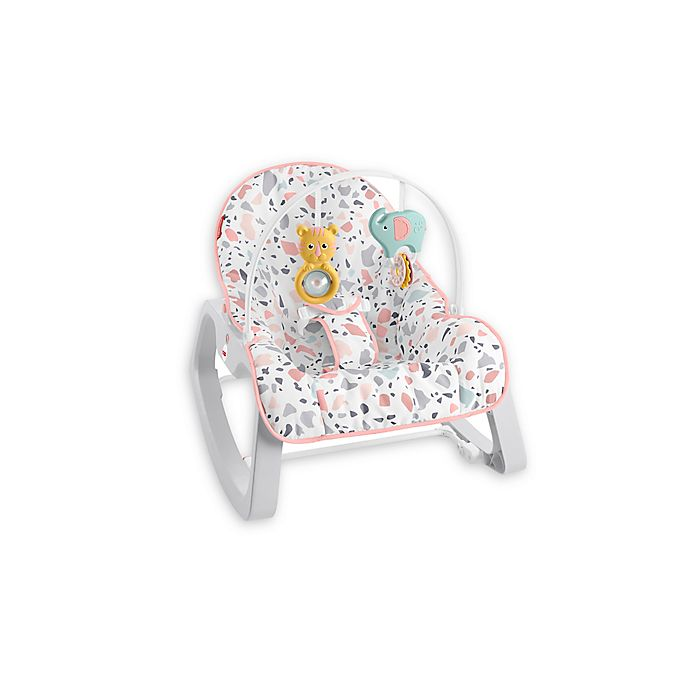 Alternate image 1 for Fisher-Price® Infant-to-Toddler Rocker in Pink Pacific Pebble