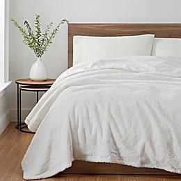 UGG® Polar Faux Rabbit Fur Blanket
