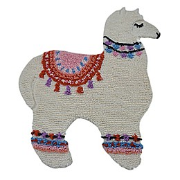 Marmalade™ Lovely Llama 3' x 3.5' Hand Tufted Accent Rug in Ivory/Multicolor