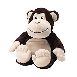 Warmies® Monkey Microwaveable Lavender Plush Toy in Brown
