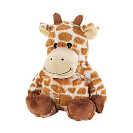 Warmies® Plush Giraffe in Brown