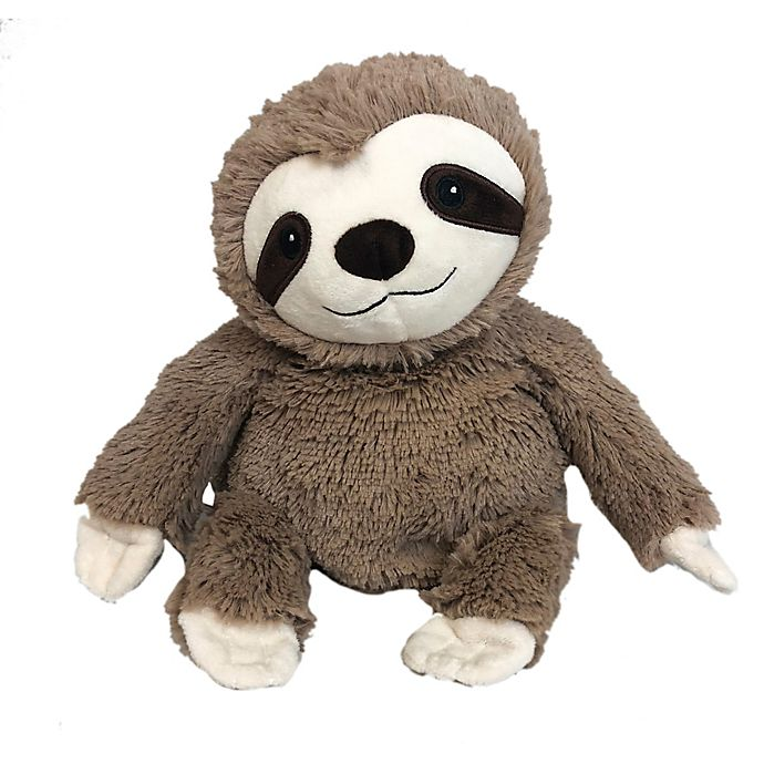 Alternate image 1 for Warmies® Plush Sloth in Brown