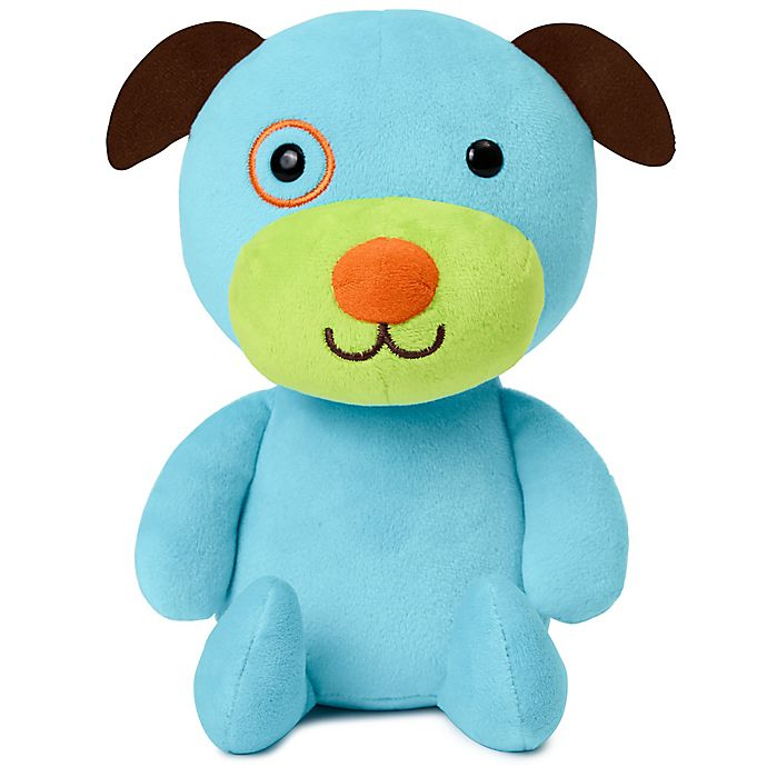 Alternate image 1 for SKIP*HOP® ZOO® Dog Plush Toy in Blue