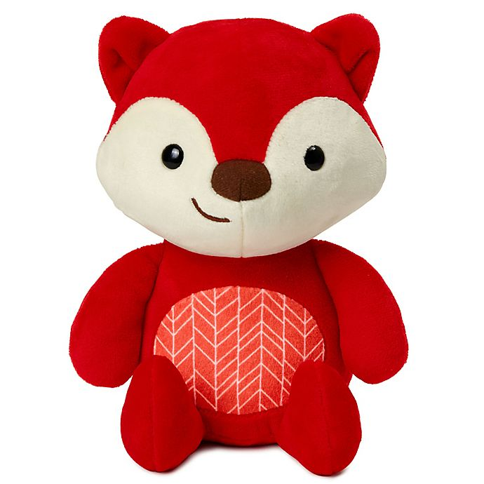Alternate image 1 for SKIP*HOP® ZOO® Fox Plush Toy in Red