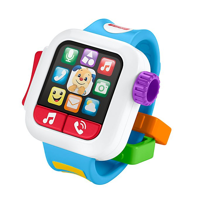 Alternate image 1 for Fisher-Price® Laugh & Learn™ Time to Learn Smartwatch Interactive Toy