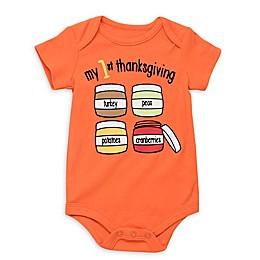 Baby Starters® First Thanksgiving Bodysuit in Orange
