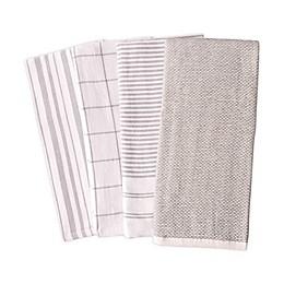 Artisanal Kitchen Supply® Reversible Terry Kitchen Towels (Set of 4)