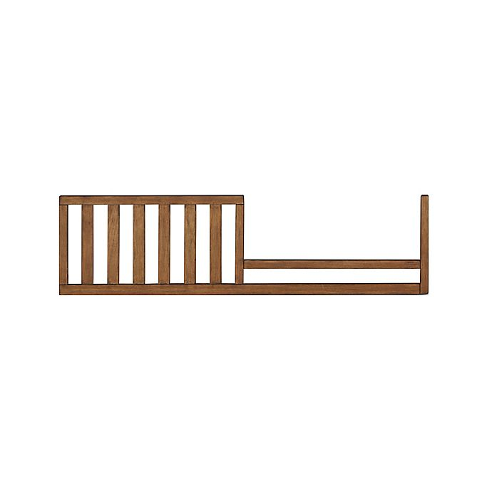 Alternate image 1 for bel amore® Brentwood Toddler Guard Rail in Brown