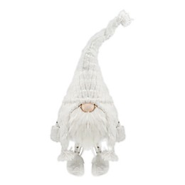 Christmas Bobble Gnome in White