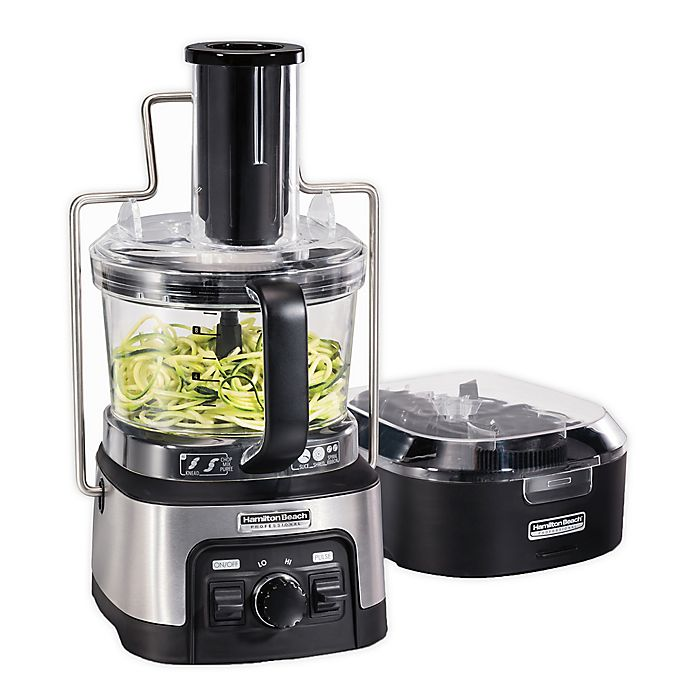 Alternate image 1 for Hamilton Beach® Professional Spiralizing Stack & Snap Food Processor