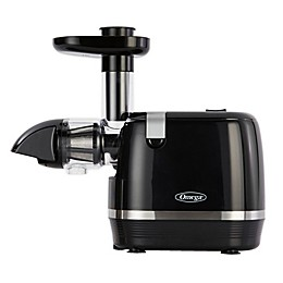 Omega® H3000D Cold Press 365 Horizontal Slow Juicer in Black