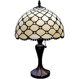 Tiffany Style Jeweled Table Lamp