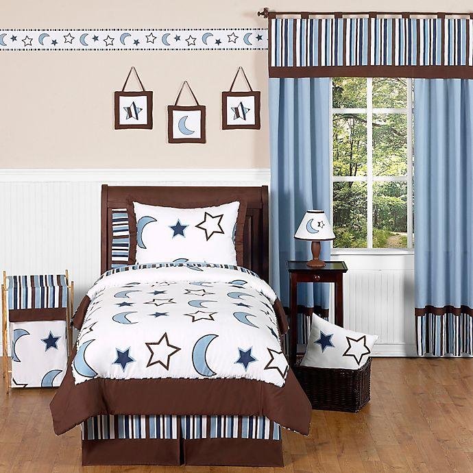 Alternate image 1 for Sweet Jojo Designs Starry Night 3-Piece Queen Bedding Set