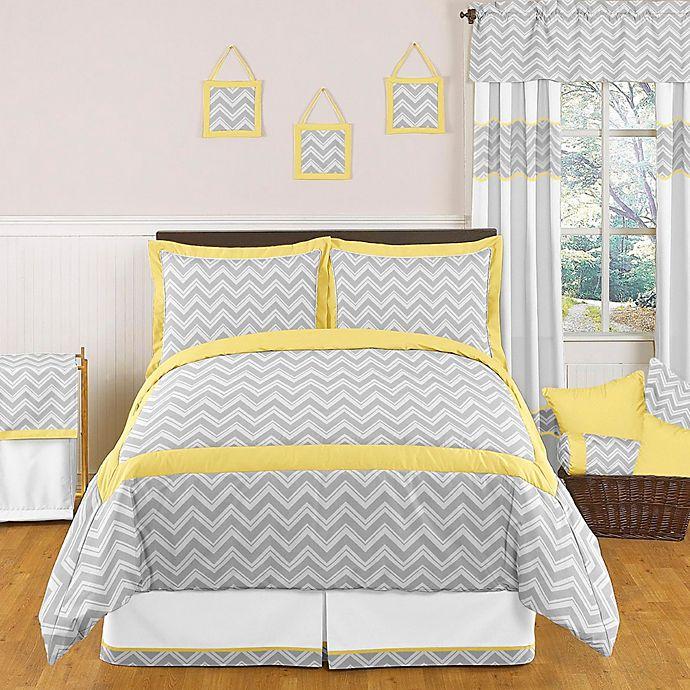 Buy Sweet Jojo Designs Zig Zag Full/Queen 3-Piece Bedding