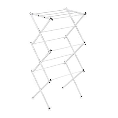 Polder® Compact Accordion Dryer Rack in White