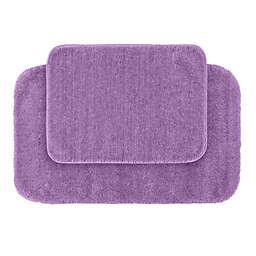 Traditional Plush 2-Piece Bath Rug Set