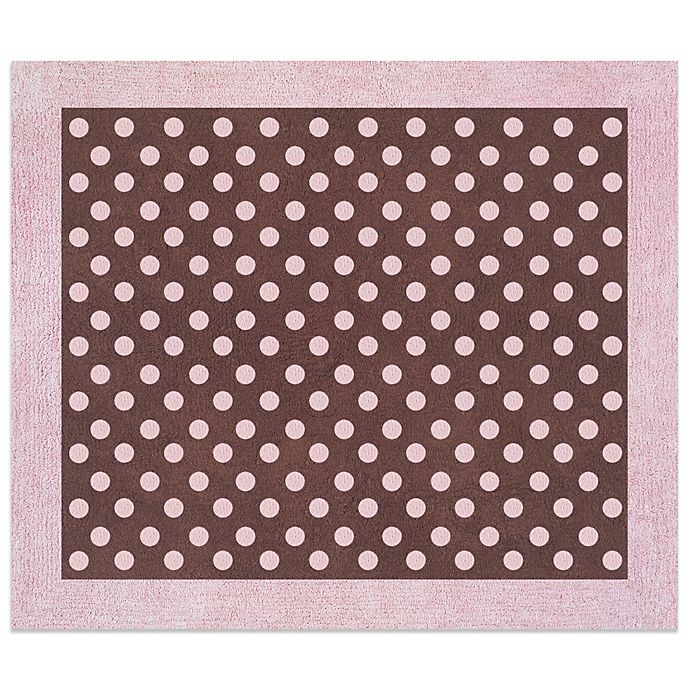 Black And White Toile Rug: Sweet Jojo Designs French Toile And Polka Dot 30-Inch X 36