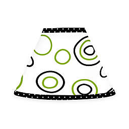 Sweet Jojo Designs Spirodot Lamp Shade in Lime/Black