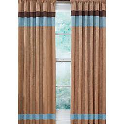 Sweet Jojo Designs Soho 84-Inch Window Panels in Blue/Brown (Set of 2)