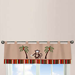 Sweet Jojo Designs Monkey Time Window Valance
