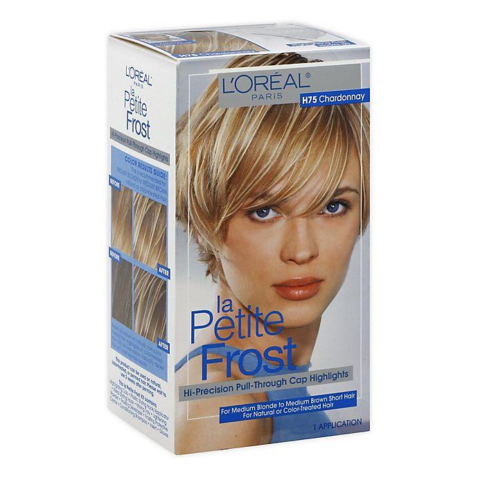 Alternate image 1 for L'Oréal® Paris La Petite Frost® Hair Color in H75 Chardonnay