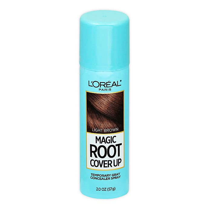 Alternate image 1 for L'Oréal® Paris Magic Root Cover Up Gray Concealer Spray in Light Brown