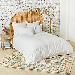 C & F Home Keller Duvet Cover in White