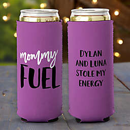 Mommy Fuel Slim Can Cooler