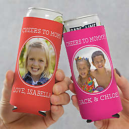Photo Message For Her Slim Can Cooler