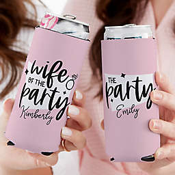We Are The Party Bachelorette Slim Can Cooler