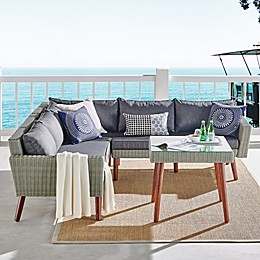 Albany All-Weather Wicker Outdoor Patio Furniture Collection