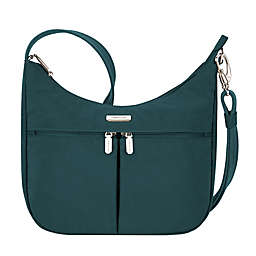 Travelon® Anti-Theft Essentials East/West Hobo Bag in Green