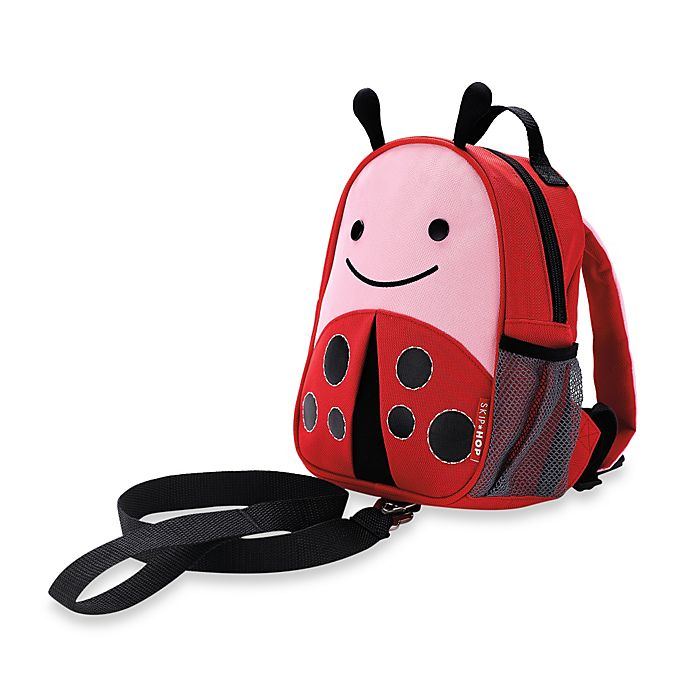Alternate image 1 for SKIP*HOP® Zoo Ladybug Safety Harness with Mini Backpack with Rein