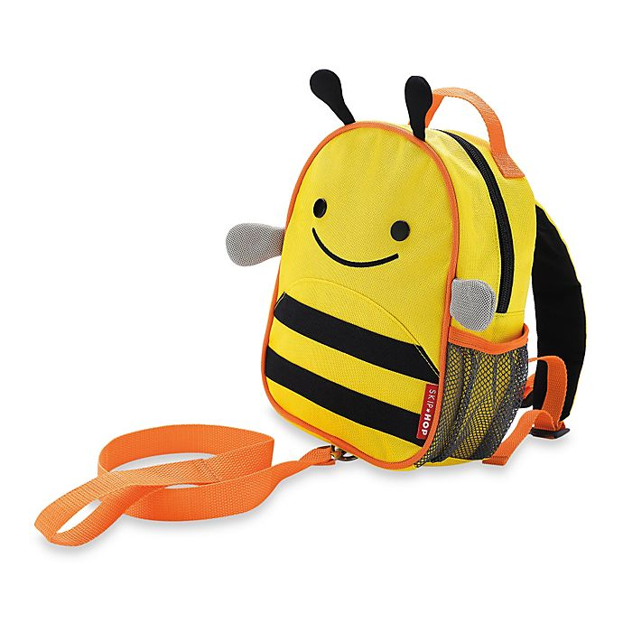 Alternate image 1 for SKIP*HOP® Zoo Bee Safety Harness with Mini Backpack with Rein