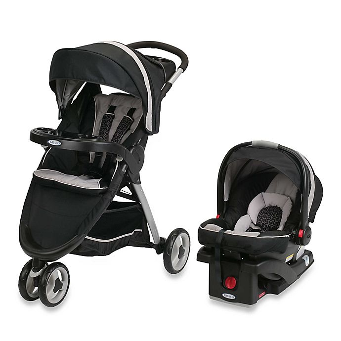 Alternate image 1 for Graco® FastAction™ Fold Sport Click Connect™ Travel System in Pierce™