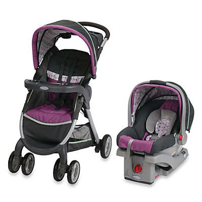 Graco® FastAction™ Fold Click Connect™ Travel System in Nyssa™