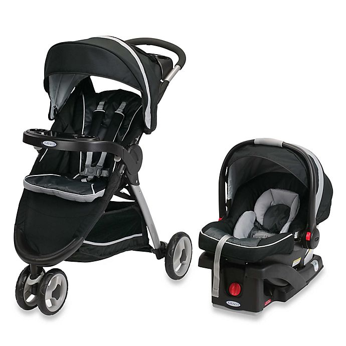 Alternate image 1 for Graco® FastAction™ Fold Sport Click Connect™ Travel System in Gotham™