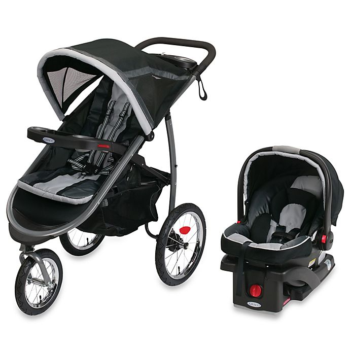 Alternate image 1 for Graco® FastAction™ Fold Jogger Click Connect™ Travel System in Gotham™