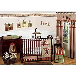 Sweet Jojo Designs Monkey Crib Bedding Collection
