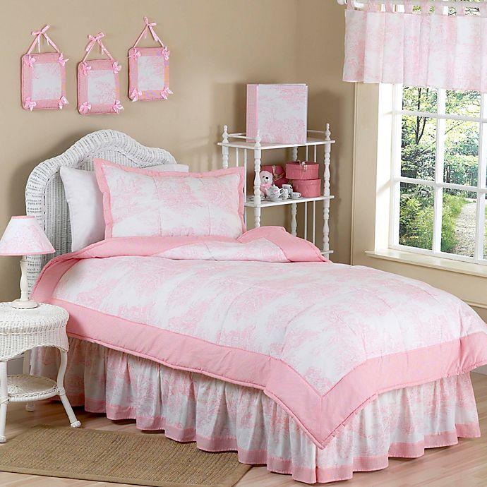 Sweet Jojo Designs Toile Bedding Set In Pink Bed Bath Beyond