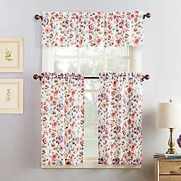 No.918® Deana 36-Inch  Kitchen Curtain Set in Coral