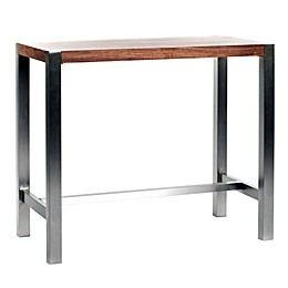Moe's Home Collection Riva Bar Table in Walnut