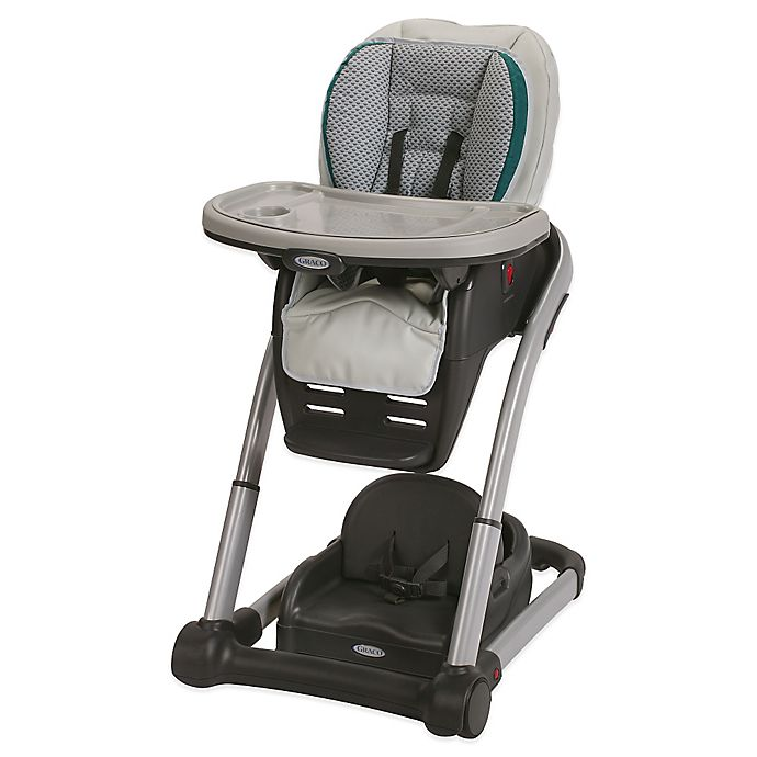 Alternate image 1 for Graco® Blossom™ 6-in-1 High Chair Seating Cushion System in Sapphire™