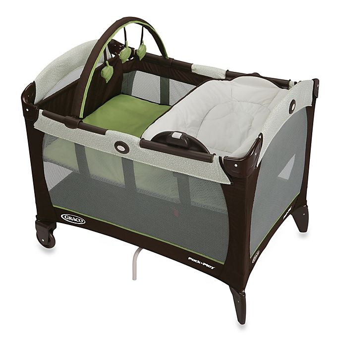 Alternate image 1 for Graco® Pack 'n Play® Playard with Reversible Napper & Changer™ in Go Green